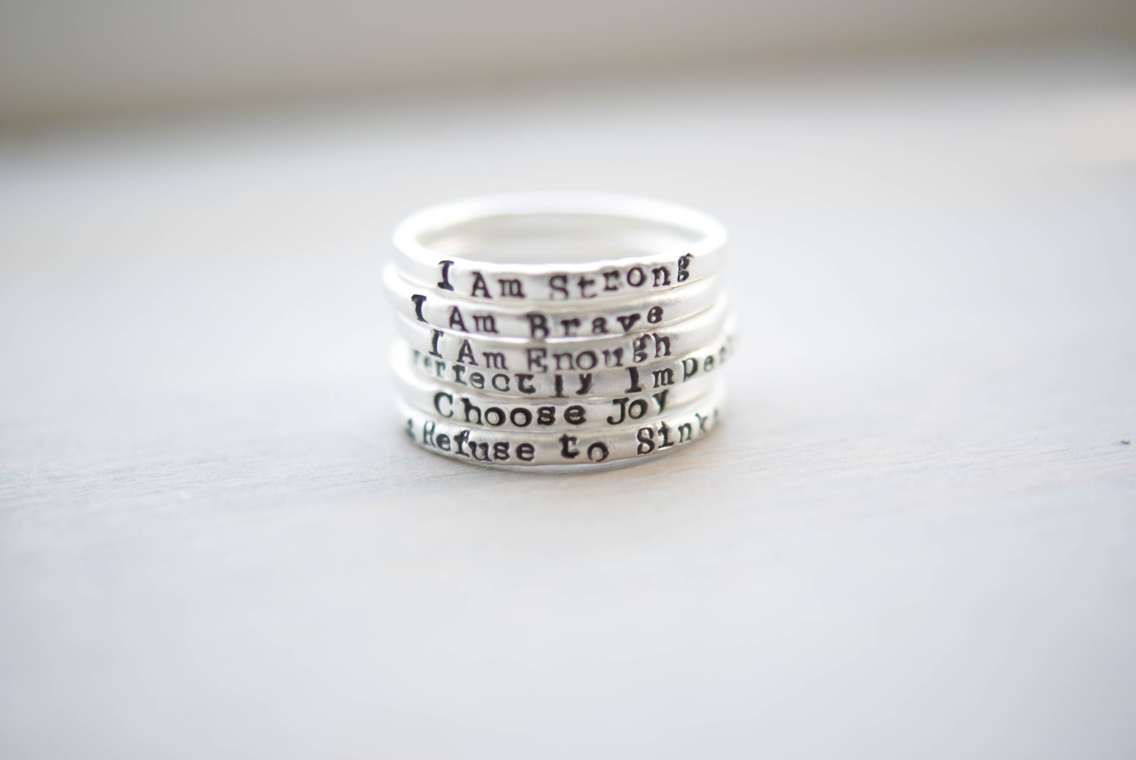 Personalized Empowerment Rings